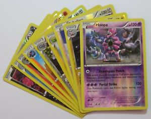 Pokemon XY Steam Siege Cards Selection: Common Rare Uncommon Reverse Holo