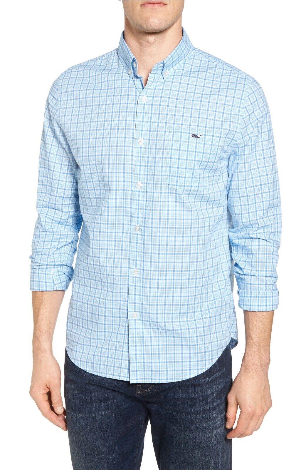 Vineyard Vines Men's Seawatch Slim Fit Plaid Sport Shirt