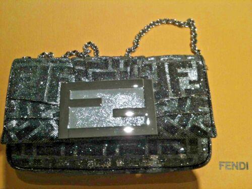 Fendi Rrp Shimmer Bag Baguette Aud Gold Silver 1800 rX6Urqpnt