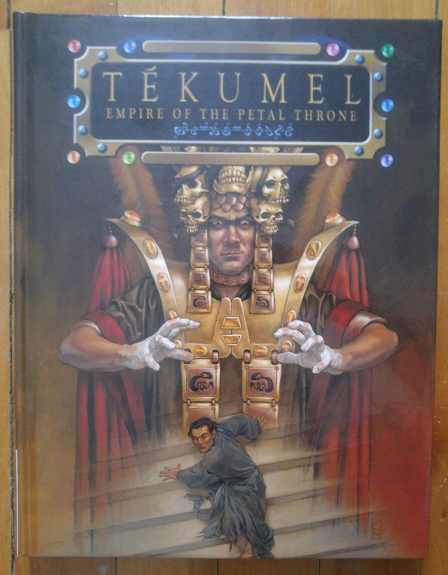 Tékumel - Empire of the Petal Throne (NM) First print 2005