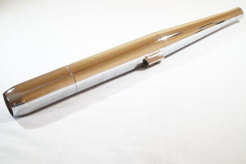 Kreidler Florett K54 LH Auspuff Anlage mit Steck Krümmer 28 mm für Mehr Leistung