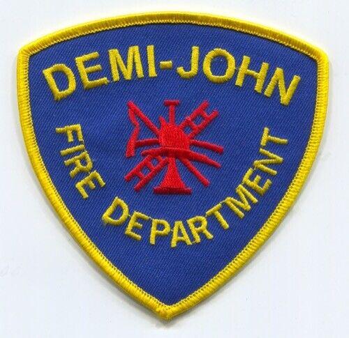 Demi John Fire Department Patch Texas TX