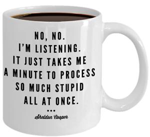 Image Is Loading Bang Theory Gift Funny Sarcastic Coffee Mug