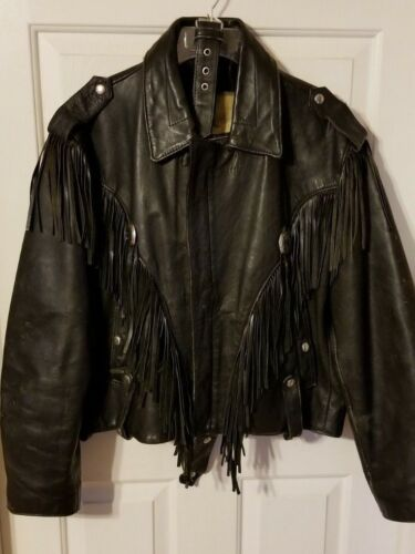 nappe da Large Harley in Davidson Med con vintage pelle donna Giacca q8vcnFEq