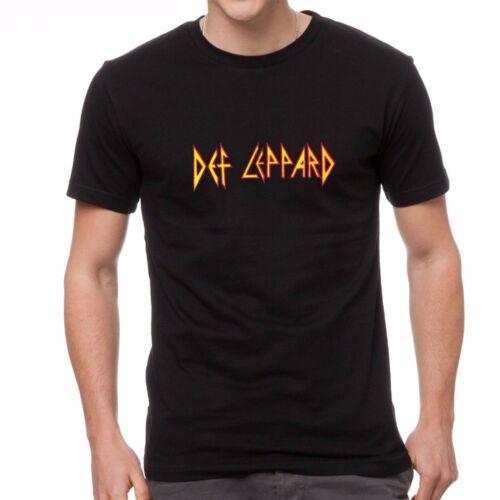 DEF LEPARD LOGO Men/'s T-shirt Long Sleeve Shirt Tank Top Vest