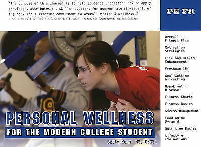 Personal Wellness for the Modern College Student by Betty Kern (Spiral bound,...