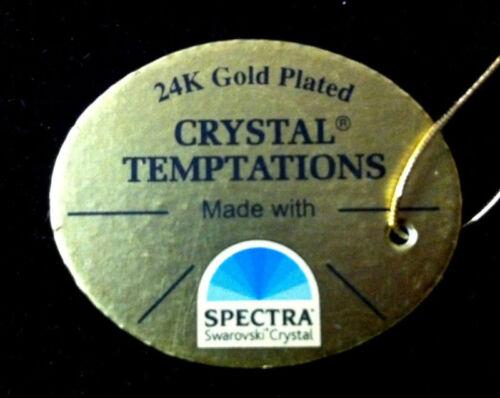 Kolibri mit Swarowski Kristallen Bestückt Vergoldet Gold Plattiert Deko Colibri