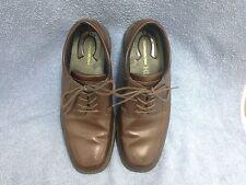 Nunn Bush Kore Men's Brown Leather Walking Shoes Size 10 1/2 M  84355-200
