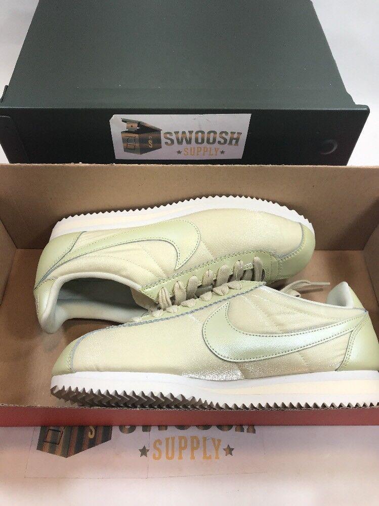 Nike Classic Cortez Premium Premium Premium shoes Women's Running shoes 905614 901 Lt Green Sz 7 fc3cb3