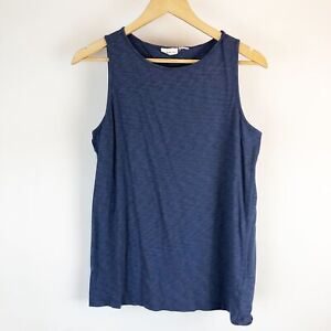 Dakini-Womens-Blue-Top-Size-Medium-M-Sleeveless-Athletic-Yoga