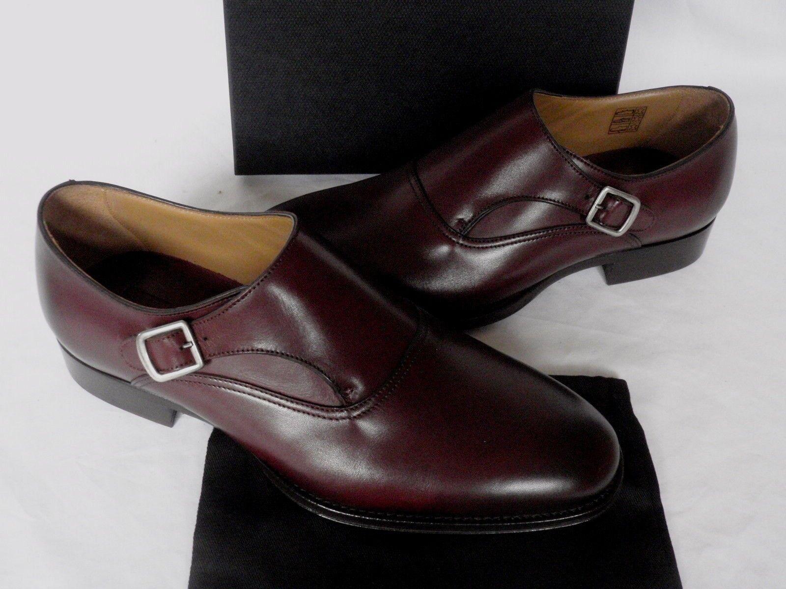 NEW  Herren Dunhill Dark Braun UK Calf Monkstrap Leder Schuhes UK Braun 10 EU 44 730e6c