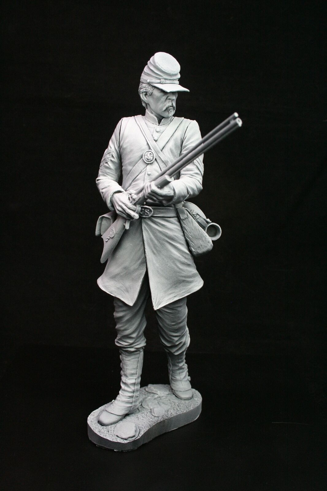 200mm 1 9 Berdan Sharpshooter, American Civil War, sculpted by Carl Reid