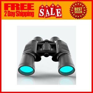 60X60 Zoom Binoculars Day//Night Vision Travel Outdoor HD Hunting Telescope Bag