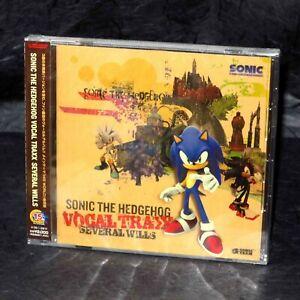 Sonic The Hedgehog Ps2 Vocal Trax Game Music Japan Original Genuine Cd New 4571164381428 Ebay