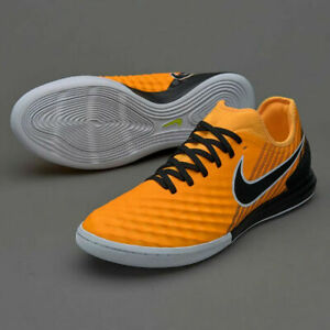 quality design e0648 51d73 Image is loading Nike-MagistaX-Finale-II-IC-Laser-Orange-Black-