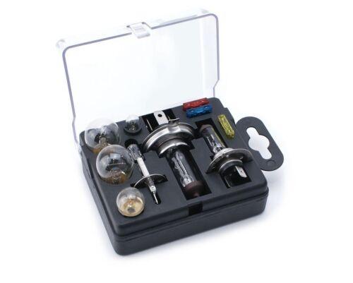 Travel Emergency Spare Bulb Fuse Kit Box Honda Jazz 2002-2018