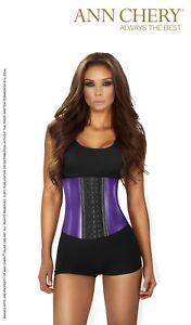 03dacac39b Ann Chery 2046 Metallic Edition 3Hooks Women Latex Cincher Workout ...