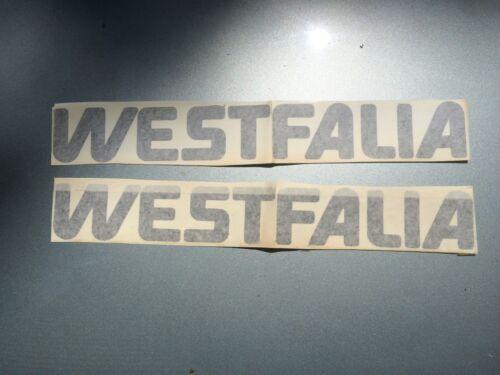 """Volkswagen WESTFALIA  BUS VAN stickers Decals 18/"""" 2 PACK for Vanagon pick Color!"""