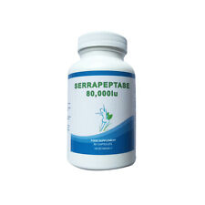 Serrapeptase 80,000IU Capsules Enteric High Strength