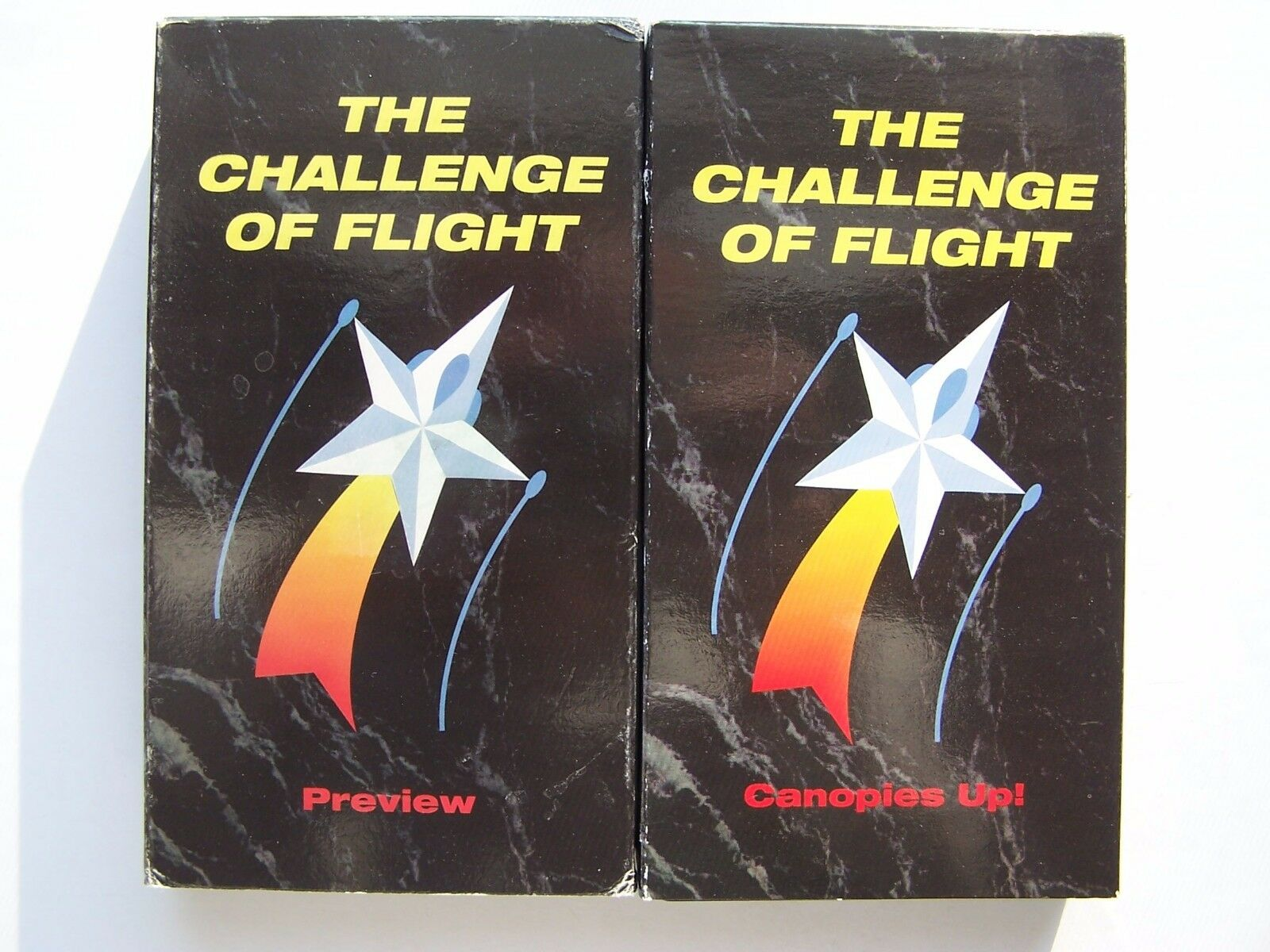 Challenge of Flight 2 Vol Preview & Canopies Up! VHS Ta