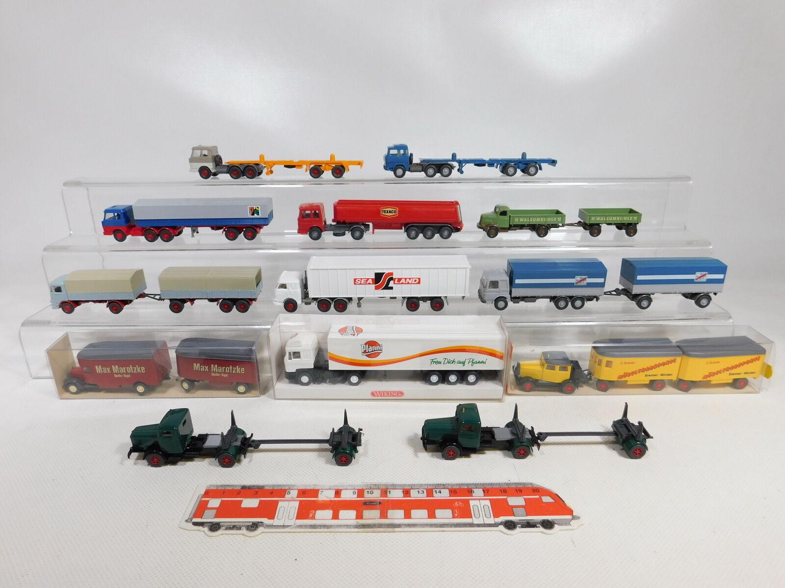 Ca549-1  13x Wiking 1 87 h0 camion  On + Büssing + HANOMAG etc, 2. Choix bien