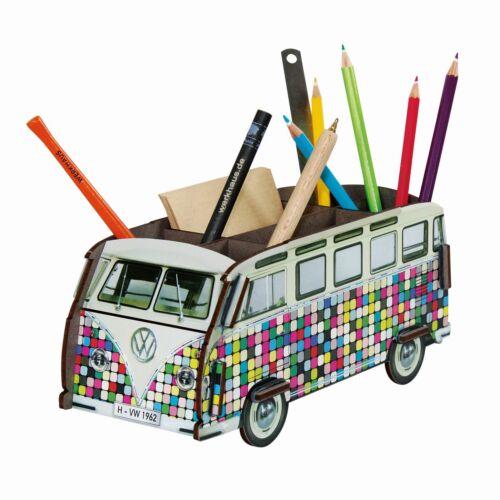 Werkhaus Halter Köcher Becher Stiftebox VW Bus T1 Bulli Pixel WE2085 Stifte