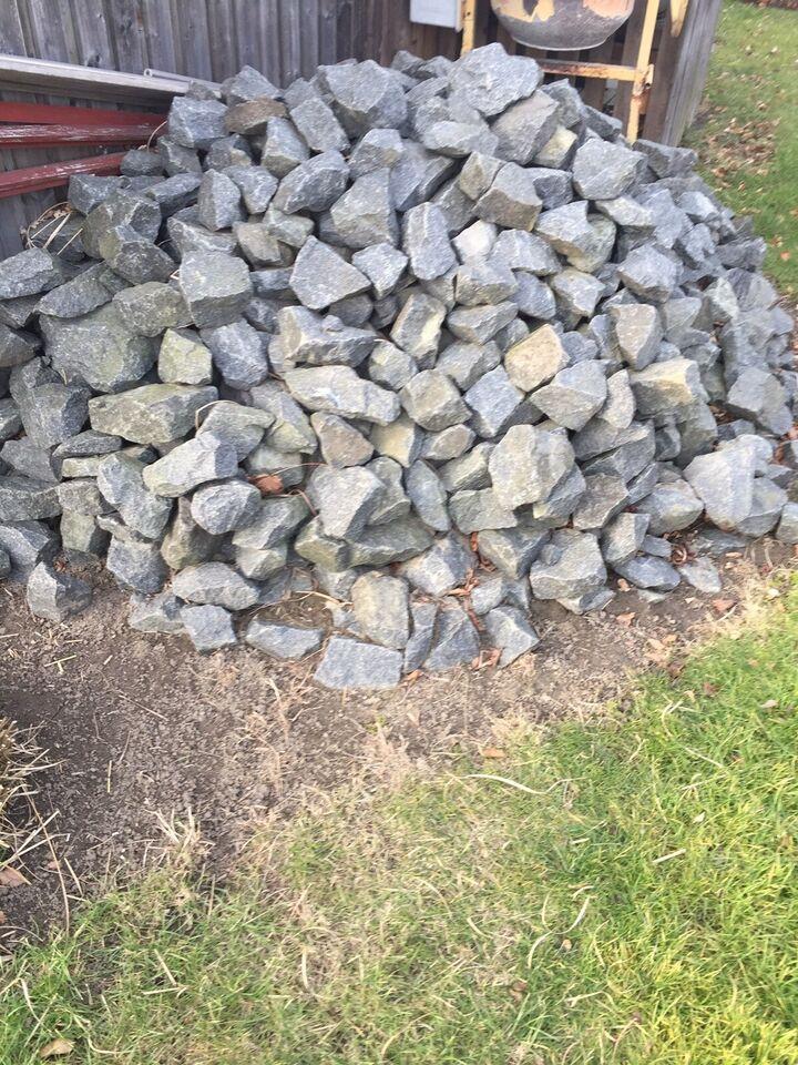 Sort norsk granit