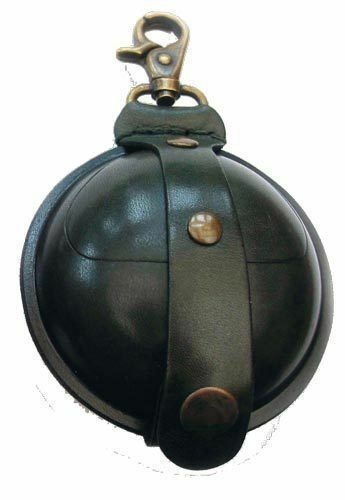 Wilkins Wilkins Wilkins Schwarz Leder Luftgewehrkugeln Tasche - groß 8.9cm ac4f71