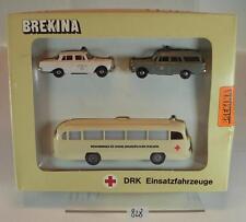 Brekina 1/87 MERCEDES BENZ o 321-MB 190-MB 190 STATION WAGON RDC Set OVP #828