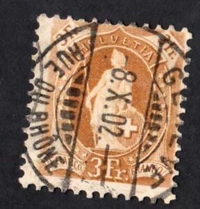 SUISSE-N-80-USED-YEAR-1887-CV-22