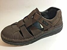 JOSEF SEIBEL Womens Brown Leather Fisherman Sport Sandals Shoes 39 8.5/9 US  #WL