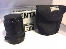 BOXED SMC PENTAX 67 Macro 135mm f4 Lens for 6x7, 67, 67II Japan Made EXC+++