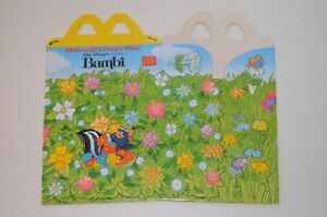 0112-McDonald-039-s-Happy-Meal-Box-empty-Bambi-Classic-McDonalds