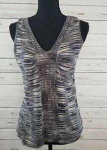 Nine-West-Sleeveless-Shirt-Blouse-Women-039-s-Size-Large