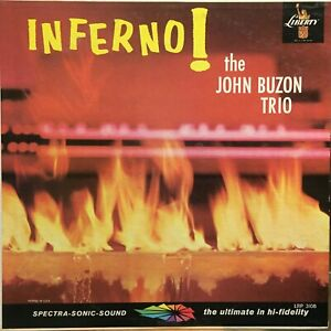 The-John-Buzon-Trio-Inferno-LP-Liberty-LRP-3108-Mono-Latin-Jazz-Big-Band-Mambo
