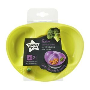Tommee Tippee Section Plates 2 pack