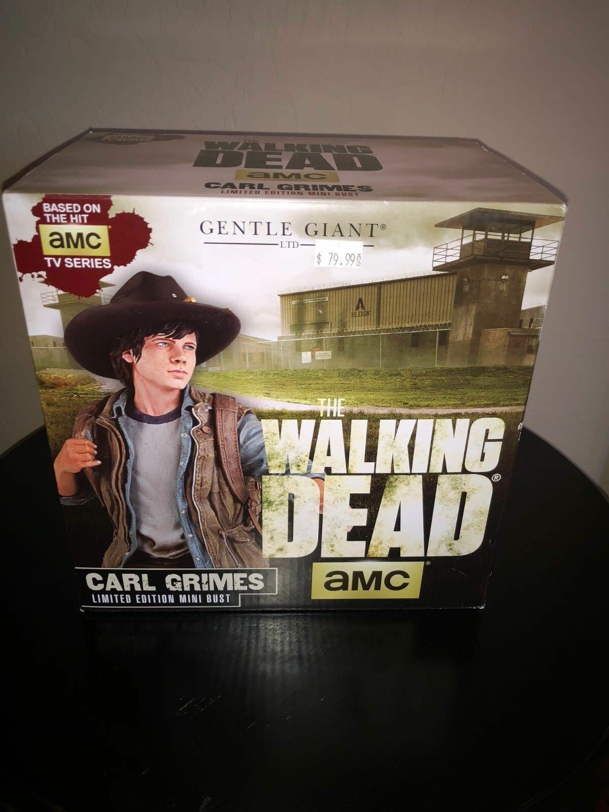 The Walking Dead Carl Grimes Mini Bust by Gentle Giant Used F