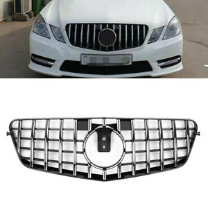 New Replacement Grille Trim Grill Chrome Mercedes E Class E300 E350 OEM Quality