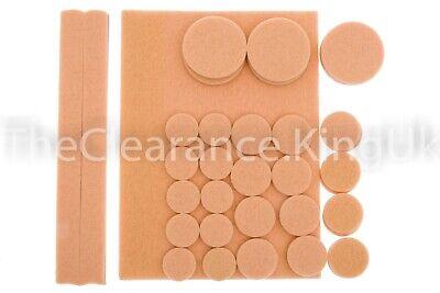 8 x Self Adhesive Felt Pad Wooden Floor /& Furniture Protectors 95 x 68mm laminat