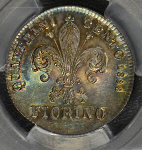 Italy-1856-Fiorin-silver-Tuscany-stunning-green-toning-PC0118-combine-shipping