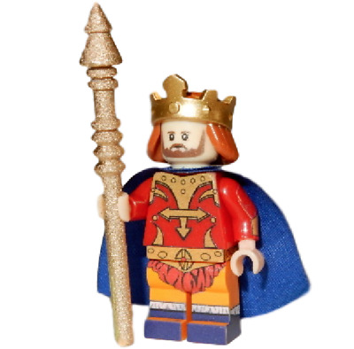 Masters Of The Universe Minifigure **NEW** LEGO Custom Printed KING RANDOR