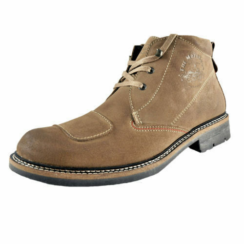 Base London Corsa Da Uomo oleoso in Pelle (38 Scamosciata Taupe Stivali Lace-up (38 Pelle A) (Kett) 8fd0f0