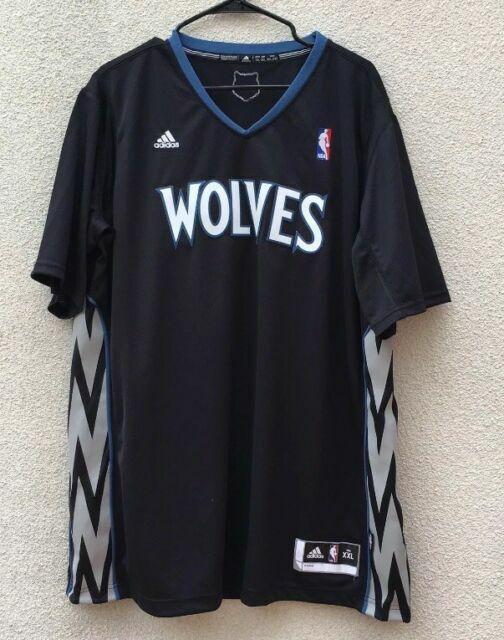 en venta en línea más vendido nueva apariencia adidas NBA Revolution 30 Minnesota Timberwolves BLK Authentic ...