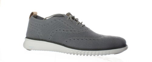 Cole Haan Mens 2.Zerogrand Ironstone//Magnet//Optic White Wing Tips Size 9