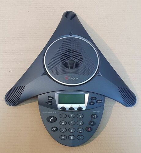 Polycom SoundStation IP 6000 Konferenztelefon Conference Phone 2201-15600-001