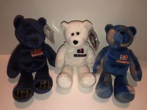 Limited Treasures Pro Bears John Elway, Terrel Davis, Bill Romanowski 🏈 3 Bears