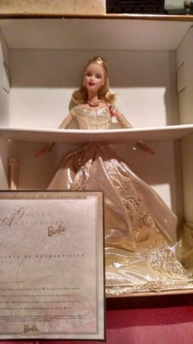 Golden Anniversary Limited Edition Toy's R Us Barbie Doll W/ certificate rw99