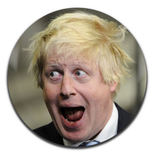 Boris Johnson Conservatives Tory Novelty 25mm 1 Inch D Pin Button Badge