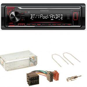 Kenwood-KMM-BT204-Bluetooth-WMA-Einbauset-fuer-Opel-Astra-F-G-Corsa-B-Zafira-A