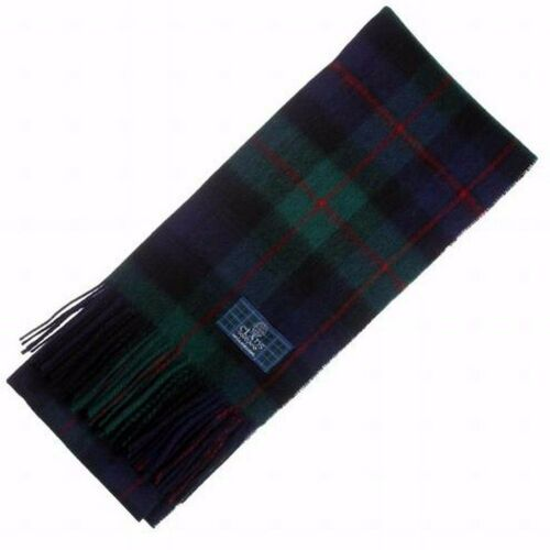 Scottish 100 /% Authentic Wool Tartan Murray of Atholl Modern Clan Scarf New !